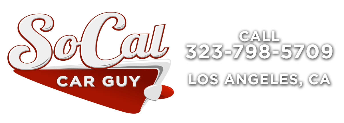 SoCal Car Guy contact banner